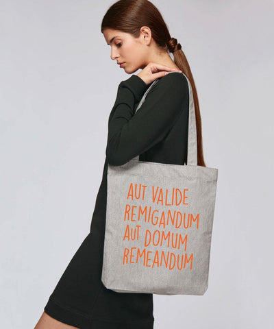 Recycled Tote Bag - Square Blades