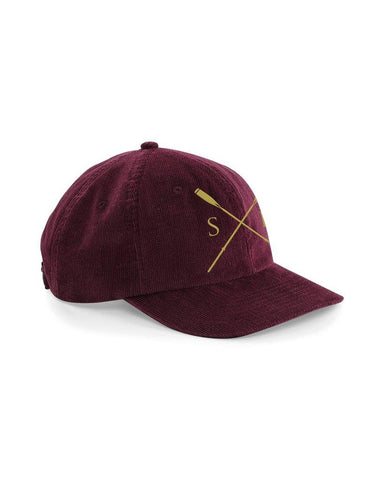 Heritage Square Oars Corduroy Cap - Hats - Square Blades Rowing Apparel Company