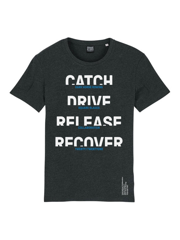 Dark Horse Catch Drive Release Recover T-Shirt - Square Blades