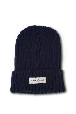 Boston Chunky Ribbed Beanie Hat - Hats - Square Blades Apparel