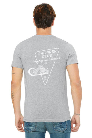 Wallington Henley Chopper Club T-Shirt - T-Shirts - Square Blades Rowing Apparel Company