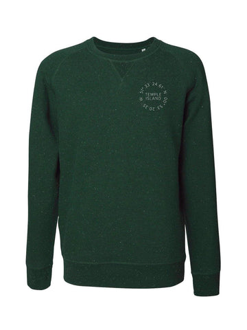 Sutton Temple Island Men's Sweatshirt - Sweatshirts - Square Blades Rowing Apparel Company