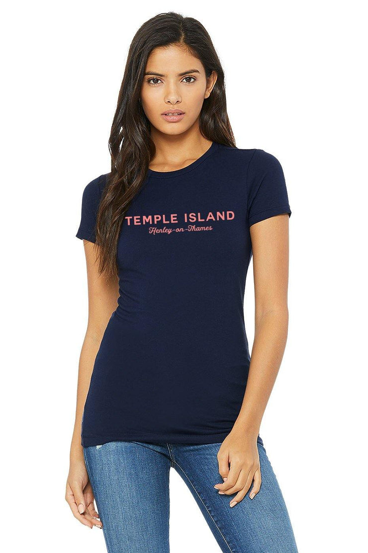 Worthenbury Temple Island Henley T-shirt - T-Shirts - Square Blades Apparel