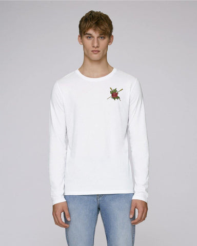 Aldford Rose Blades Men's Long Sleeve T-shirt - T-Shirts - Square Blades Rowing Apparel Company