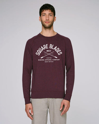 Sutton Re-Established Men's Sweatshirt - Sweatshirts - Square Blades Rowing Apparel Company
