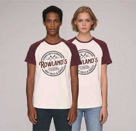 Rowland's Boat Repairs T-shirt - T-Shirts - Square Blades Rowing Apparel Company