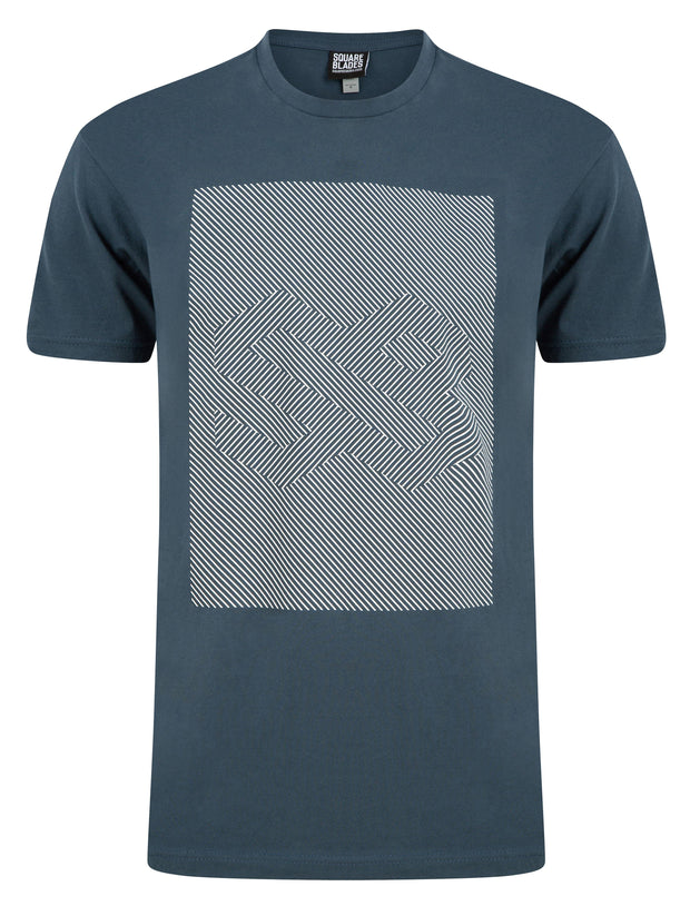 Illusion Logo T-Shirt - Square Blades