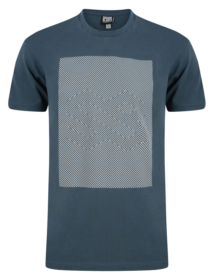 Illusion Logo T-Shirt - T-Shirts - Square Blades Apparel