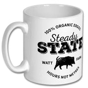 Steady State Watt Farm Mug - Accessories - Square Blades Apparel