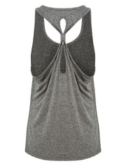 Fortuna Born To Row Gym Vest - Square Blades