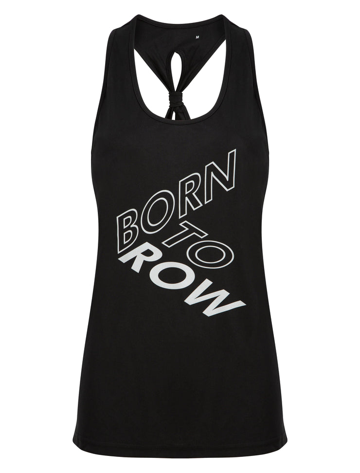 Fortuna Born To Row Gym Vest - Vests & Tanks - Square Blades Apparel