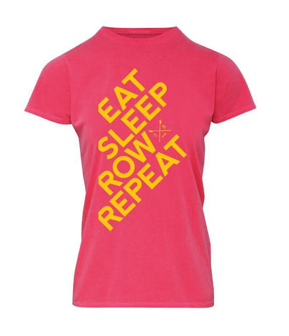 Eaton Eat Sleep Row Repeat T-Shirt - T-Shirts - Square Blades Rowing Apparel Company