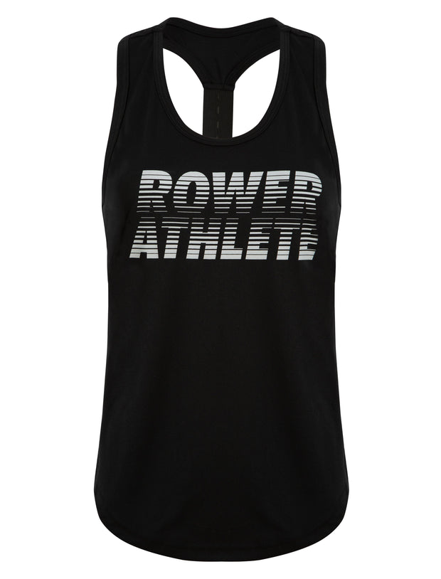 Rower Athlete Gym Vest - Square Blades