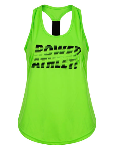 Furrina Sunset Rower Athlete Gym Vest