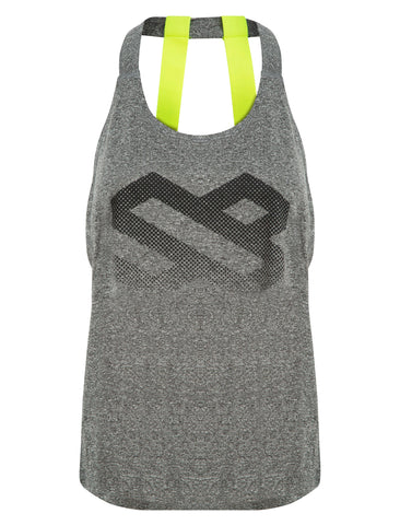 Salacia Logo Gym Vest - Vests & Tanks - Square Blades Apparel
