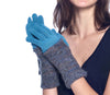 ALPACA GLOVES CARAVELLI FULL Azul