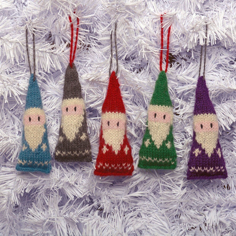 SANTA ORNAMENT BABY ALPACA Assorted