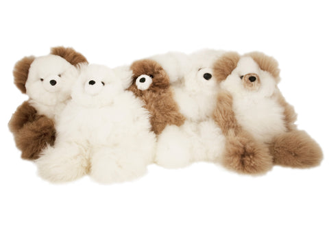 Stuffed Bear Micro by Shupaca assorted colors
