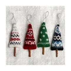 NORDIC TREE ALPACA ORNAMENT Assorted
