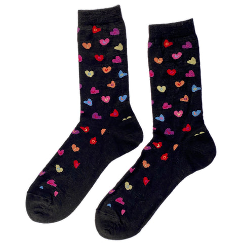 WARRIOR MED-WEIGHT ALPACA SOCK Ltd. Ed. Sweethearts Candy Hearts