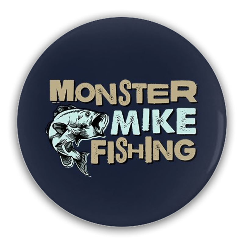 Monster Mike Button