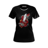 MASTER WONG: BLACK DRAGON T-SHIRT - WOMEN