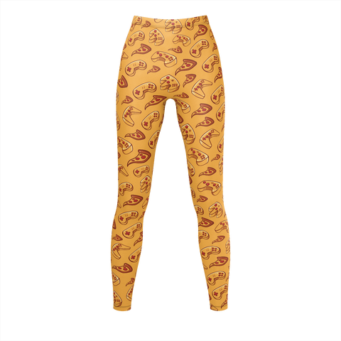 LES PIZZA GUYS: YELLOW LEGGINGS