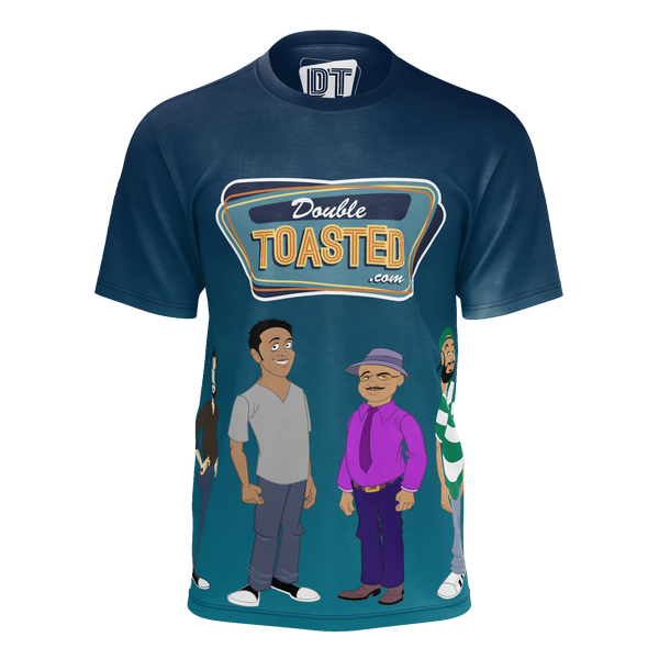 DOUBLE TOASTED: CAST GRADIENT T-SHIRT