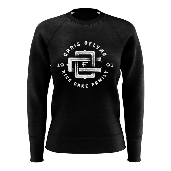 CHRIS OFLYNG: LOGO SWEATSHIRT - WOMEN