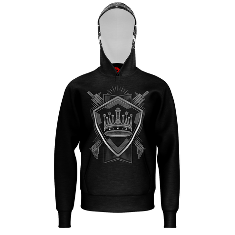PARTIALLY ROYAL: CREST HOODIE