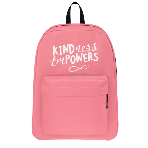 CASEY SIMPSON: KINDNESS EMPOWERS PINK BACKPACK
