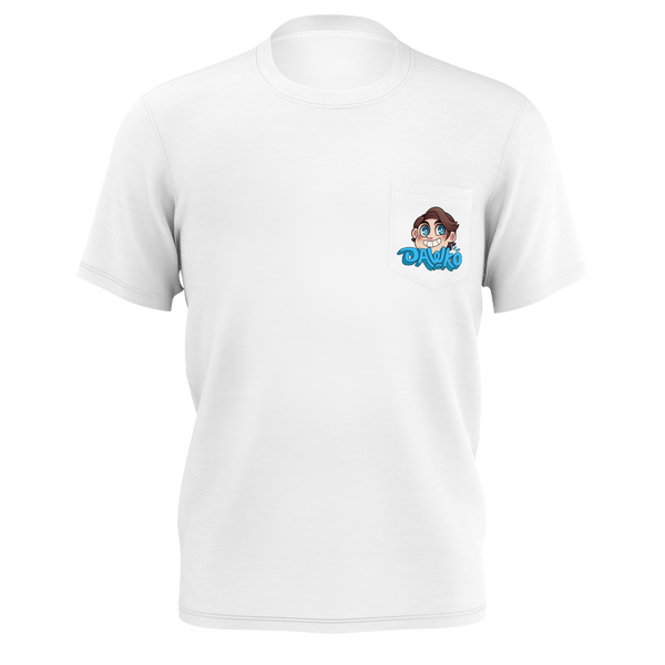 DAWKO: BLUE POCKET T-SHIRT