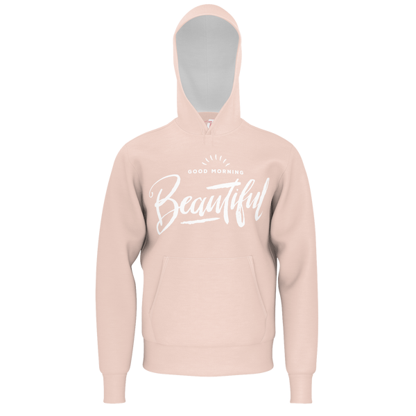 JOSH TRYHANE: BEAUTIFUL PINK/WHITE HOODIE