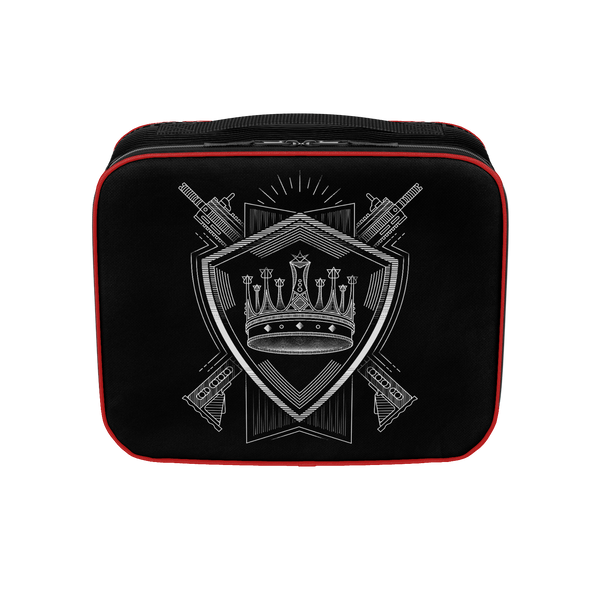 PARTIALLY ROYAL: CREST LUNCHBOX