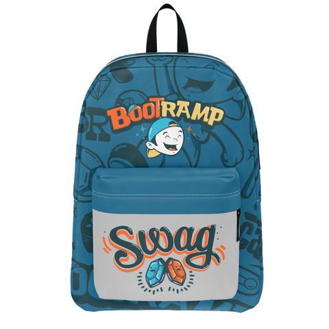 BOOTRAMP: BLUE BACKPACK