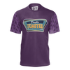 DOUBLE TOASTED: PURPLE T-SHIRT
