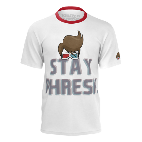 KIBITZ AND THE CAPTAIN: STAY PHRESH T-SHIRT