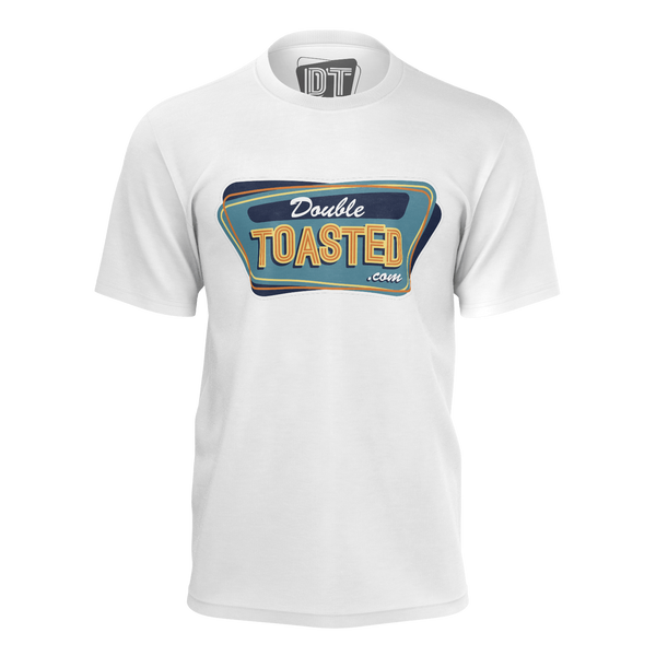 DOUBLE TOASTED: WHITE T-SHIRT