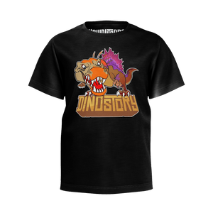 Spinosaurus Black T-Shirt - Youth
