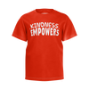 CASEY SIMPSON: KINDESS EMPOWERS RED T-SHIRT - KIDS
