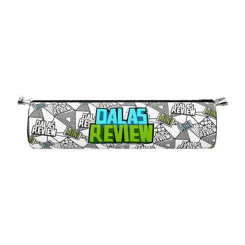 DALAS REVIEW: BLUE/GREEN PATTERN PENCIL CASE