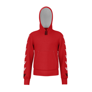 Delta Red Hoodie - Youth