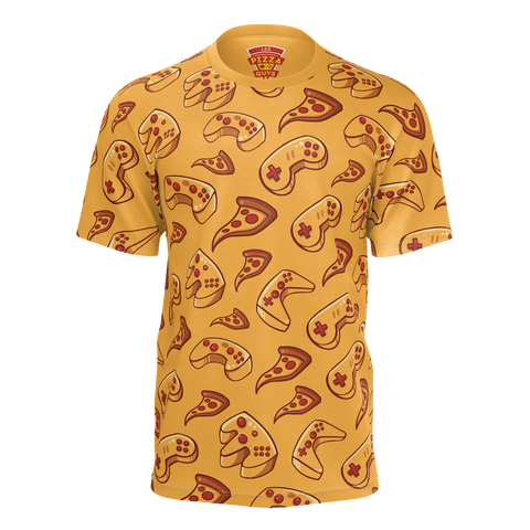 LES PIZZA GUYS: 100% PIZZA & GAMING T-SHIRT