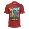 ABDALLAHSMASH026: SMASH TEAM RED T-SHIRT