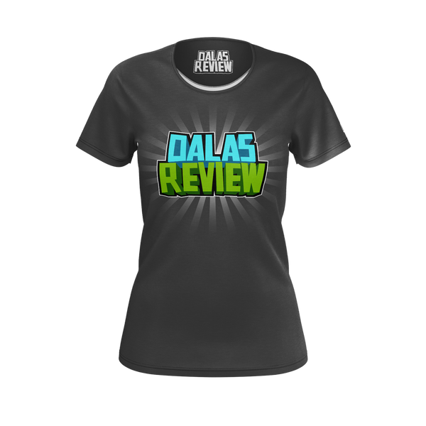 DALAS REVIEW:  LOGO BLACK T-SHIRT -  WOMEN