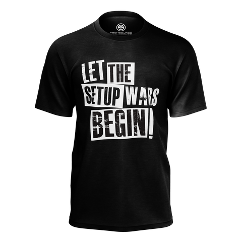 TECHSOURCE: SETUP WARS BLACK T-SHIRT