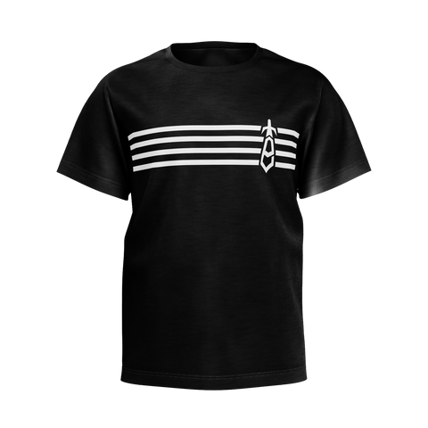 ECLIHPSE: STRIPES LOGO T-SHIRT - KIDS