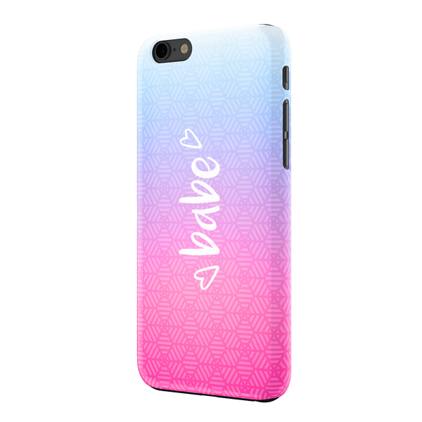 ALEXA MAE: BABE IPHONE 6 CASE