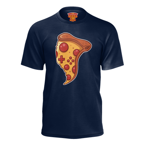 LES PIZZA GUYS: MEGA PIZZA T-SHIRT