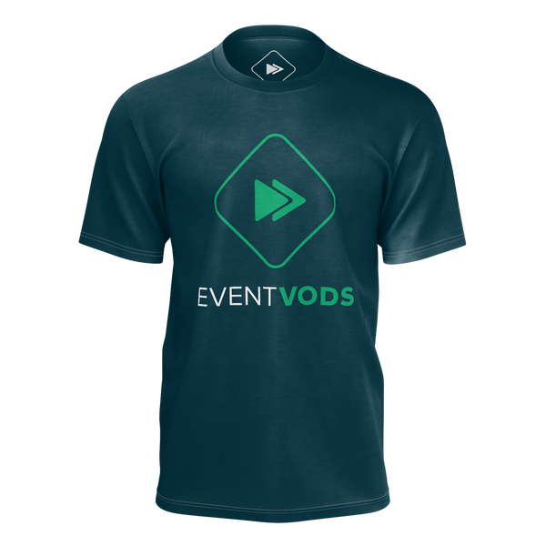 EVENTVODS: NAVY EVENT T-SHIRT